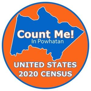 Powhatan County 2020 Census Logo