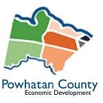 Powhatan-Co-Logo-Icon- County shape with Economic Development text