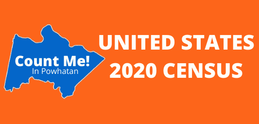 Count me! in Powhatan the United States 2020 Census