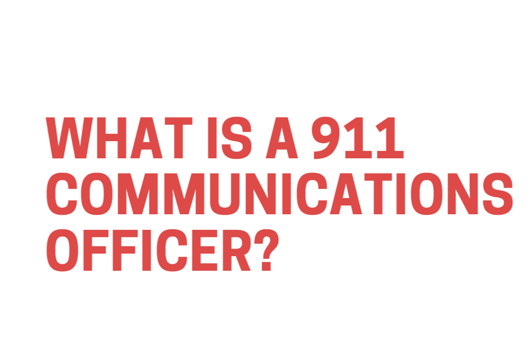 What Is a 911 Communications Officer info-graphic Opens in new window